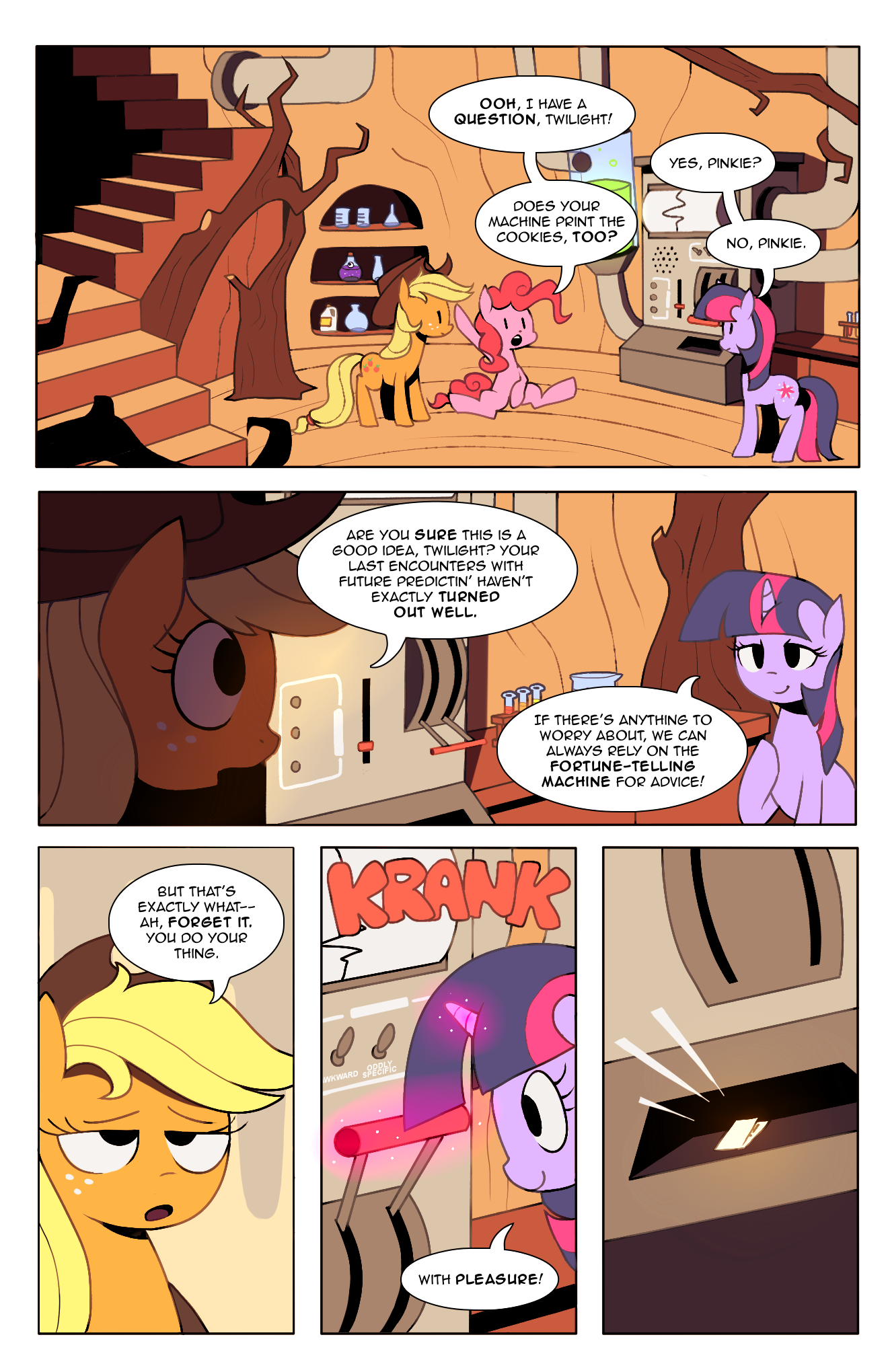 Tales from Ponyville: Chapter 1, Page 3 by Karzahnii