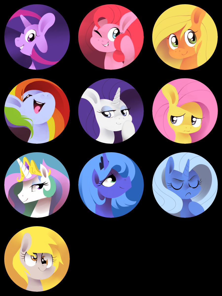 My Little Pins! by Karzahnii