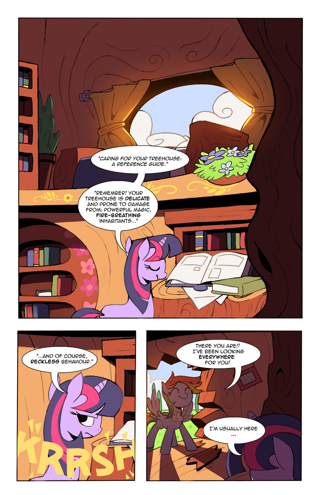 Tales from Ponyville: Chapter 3, Page 1