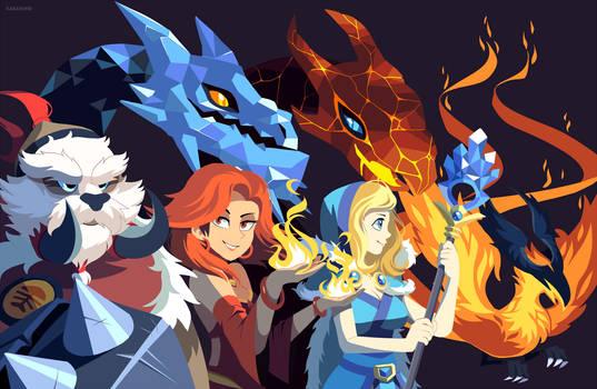 Dota 2: Ice and Fire
