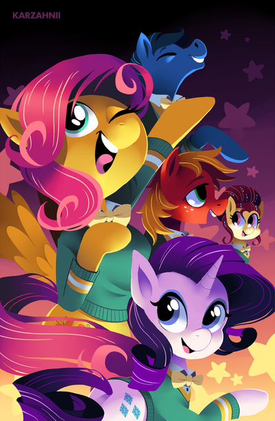 The Ponytones by Karzahnii