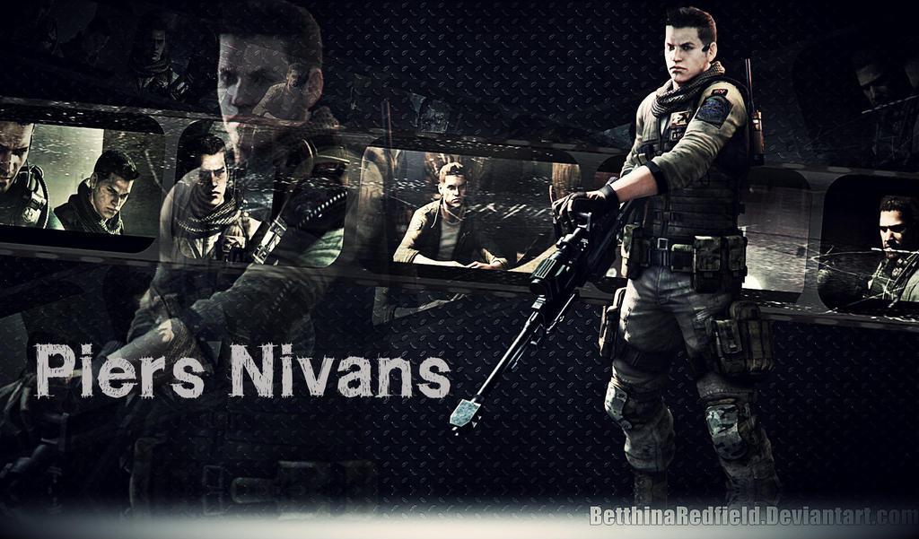 Piers Nivans Resident Evil 6 Wallpaper By Betthinaredfield On