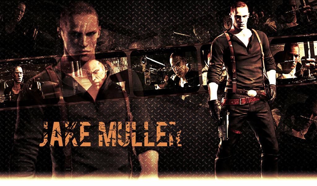 Resident Evil 6 Wallpaper Jake