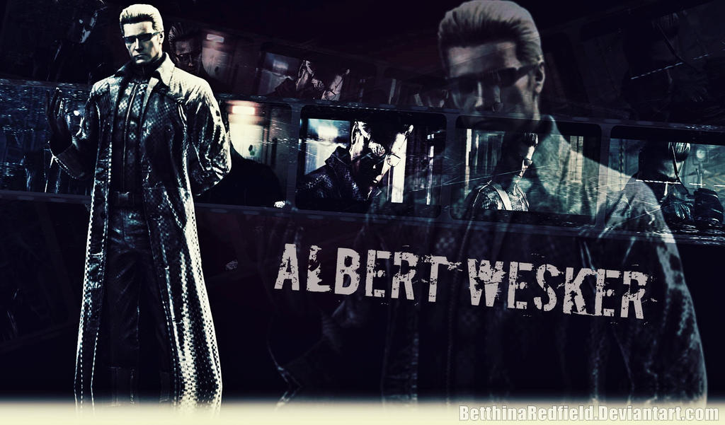 Albert Wesker Resident Evil 5 Wallpaper By Betthinaredfield On