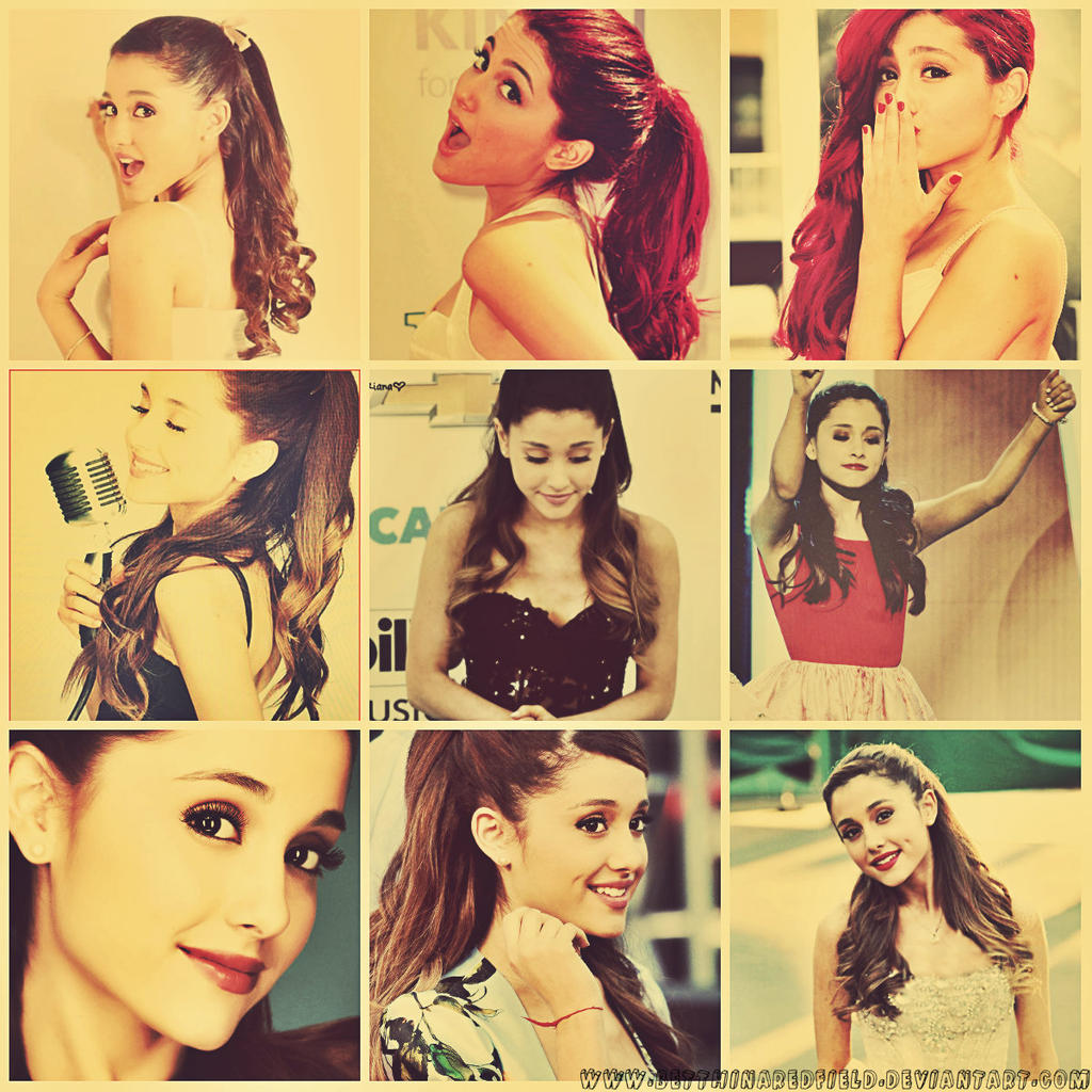 Ariana Grande Tumblr Collage 2014 Ariana Grande~ ...