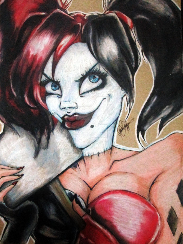 Harley Quinn - Justice League gods and monsters by BetthinaRedfield