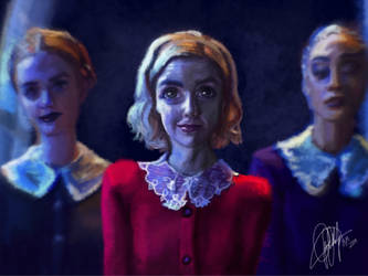 Sabrina Spellman and the Weird Sisters by BetthinaRedfield