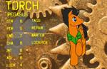 Torch Character Sheet