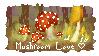 Mushroom Appreciation Stamp by lewdi