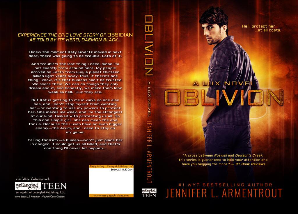 Oblivion - Jennifer Armentrout by soapymayhem