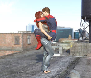 MJ and Spidey
