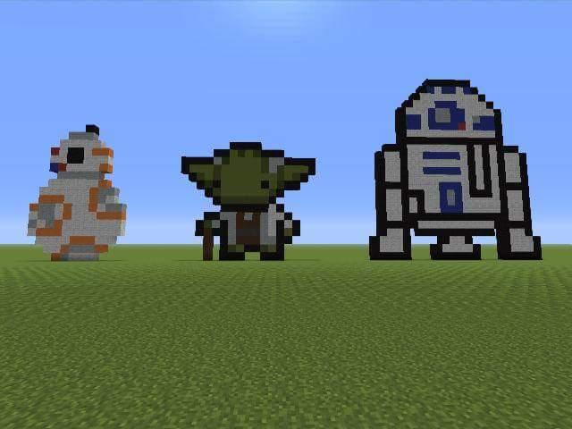Minecraft Pixel Art Star Wars by SirFool on DeviantArt
