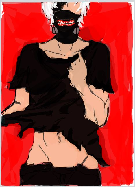 Kaneki Ken POP Art by jazzygirl2222