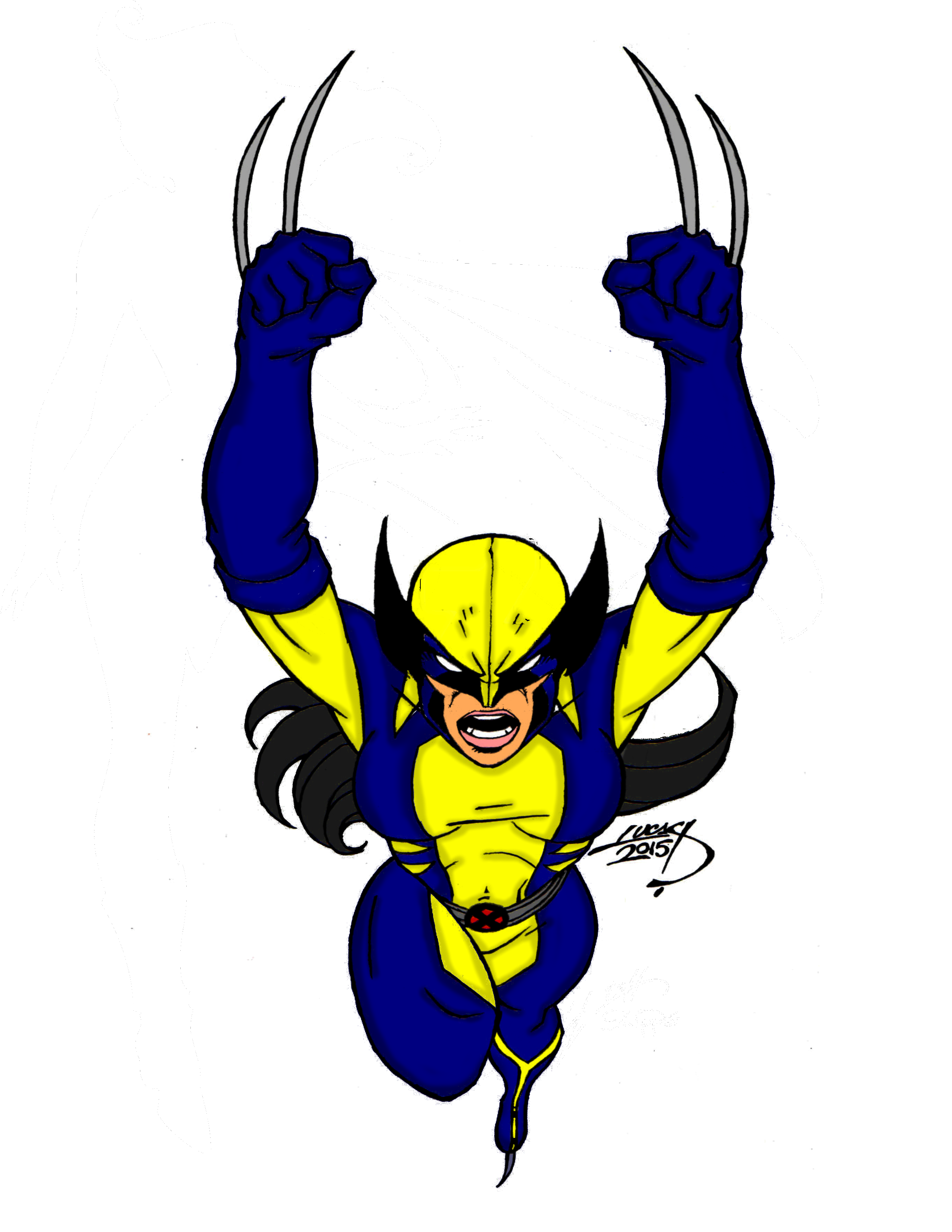 All New Wolverine 2015 By Lucasackerman by X-Bra