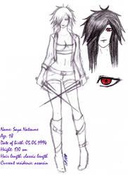 YBTM::Character design No.2 by Jigoku-Yoru