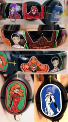 Neon Genesis Evangelion Headphones