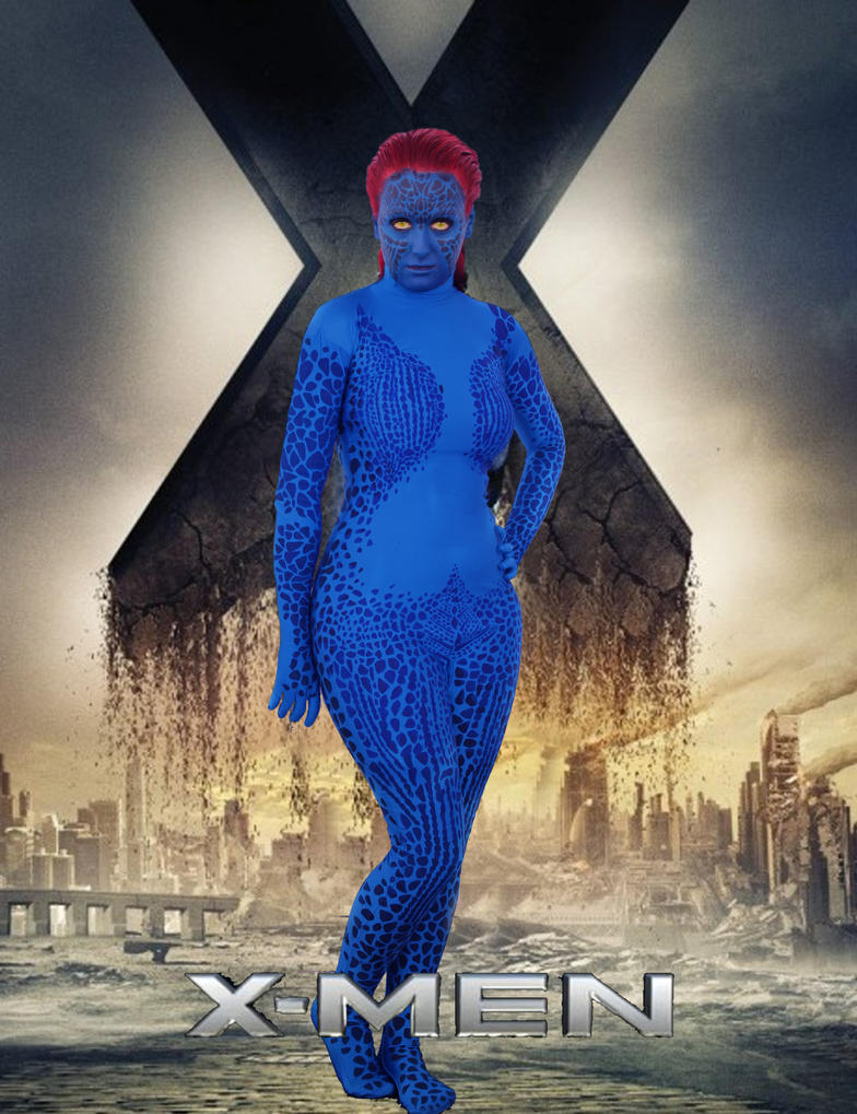 Mystique by water-on-fire