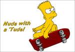 Bart Simpson03 v2 -Nude with an 'Tude!