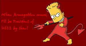 Bart Simpson04 -President of HELL! -v2