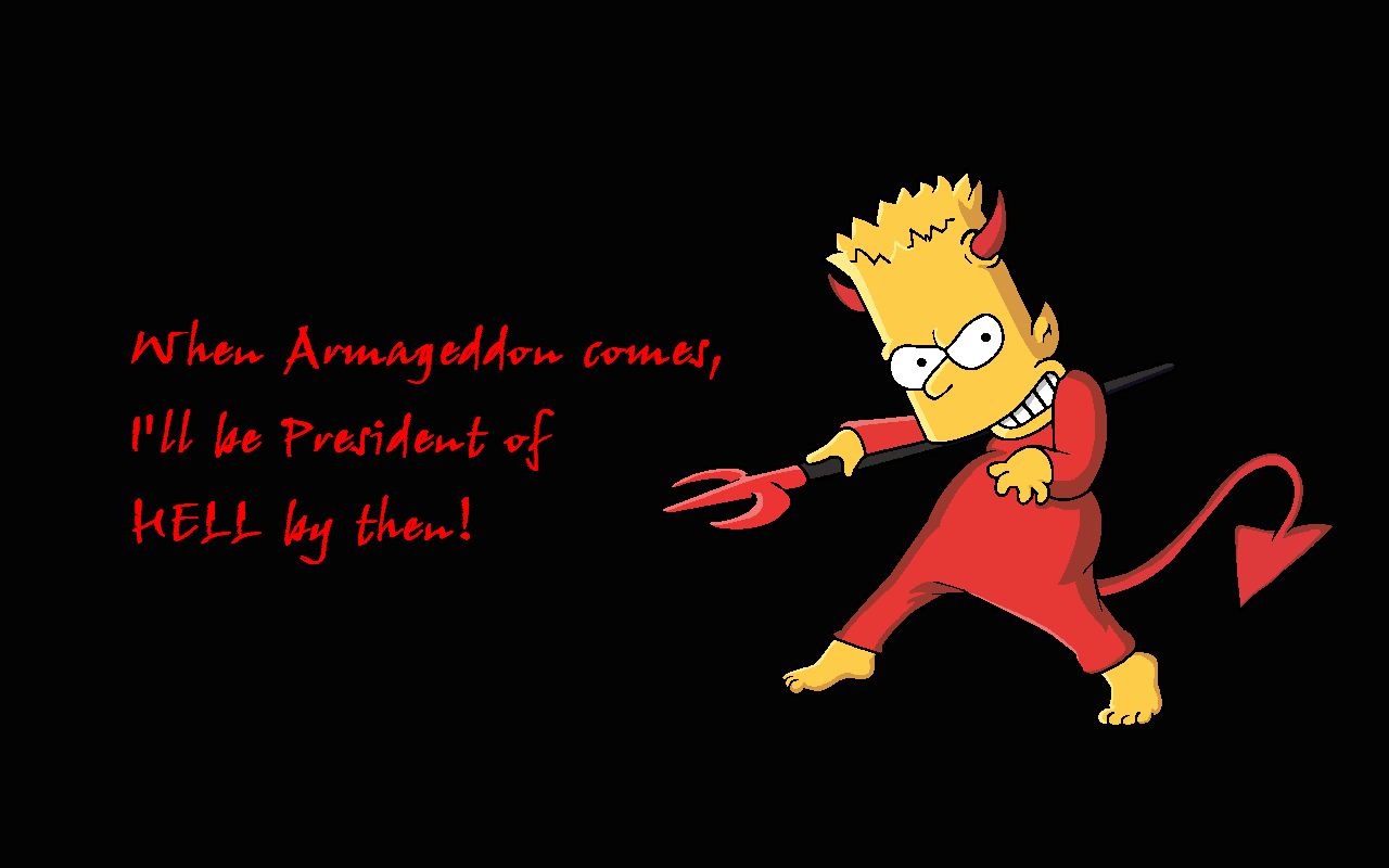 Black Bart Simpson Do The Right Thing