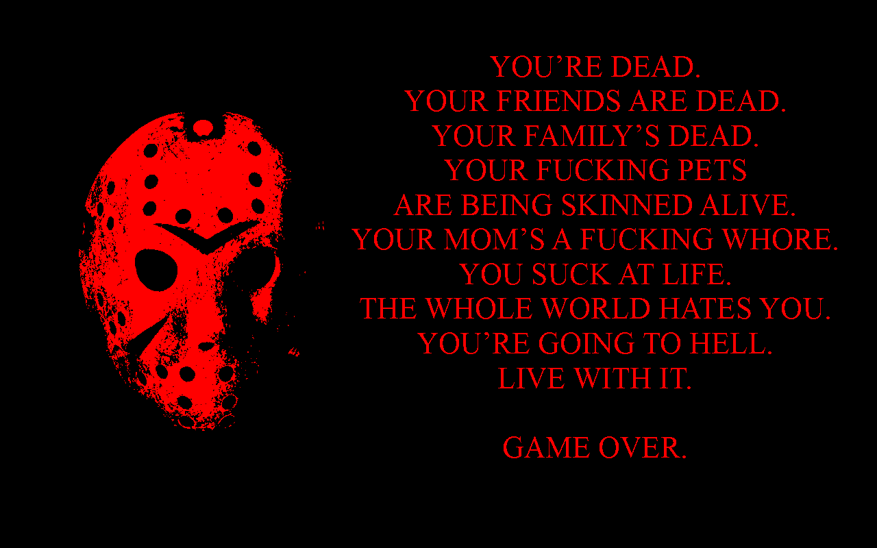 Friday The 13th Game Over Wp By Dtwx On Deviantart
