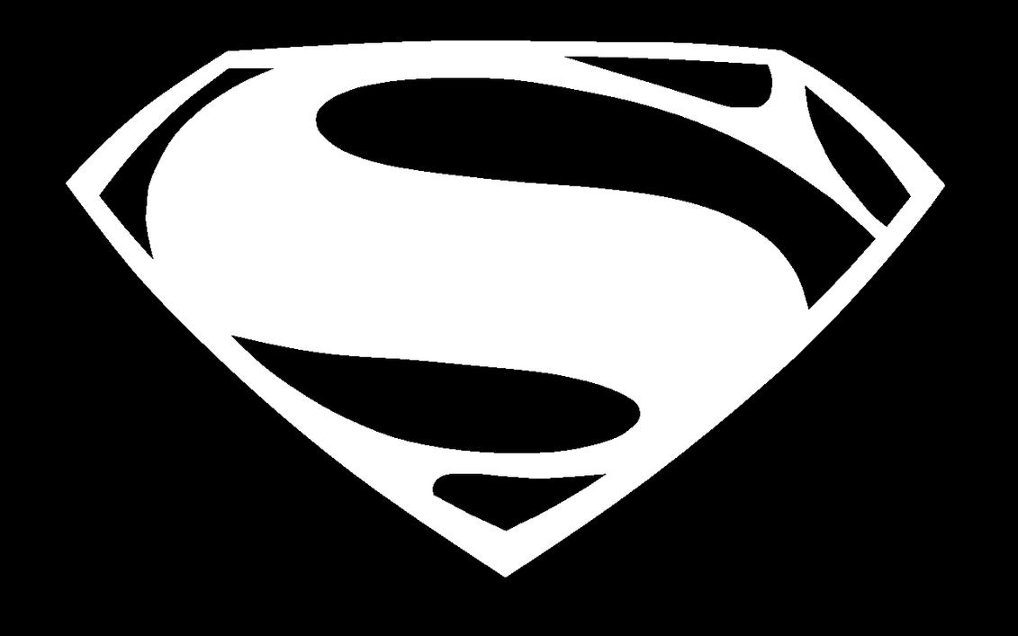 Black And White Superman Logo | www.pixshark.com - Images ...