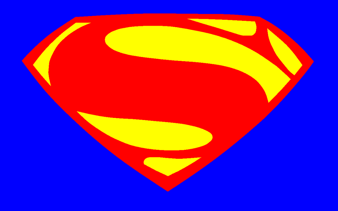 Custom Superman Logo Clipart Vector Labs
