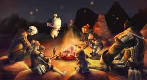 Firelight by Laifierr