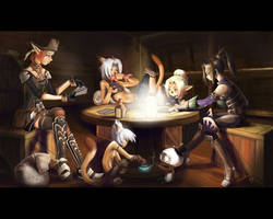All in a game of cards by Laifierr
