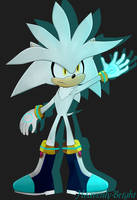 Silver The Hedgehog by Heavenly-Bright