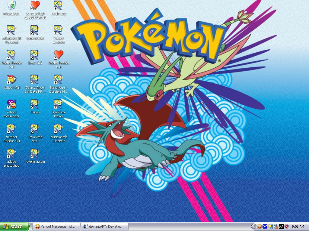 Flygon Wallpaper by faeriepteri7764 on DeviantArt