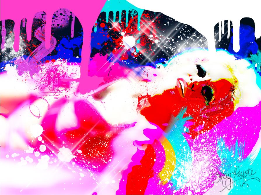 Glitter Pool 2 by shaypeyote