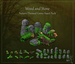 Wood and Stone game asset pack