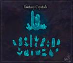 Fantasy Crystals Game Asset Pack