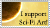I Support Sci-Fi Art by aeon