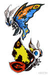 Mothra x2