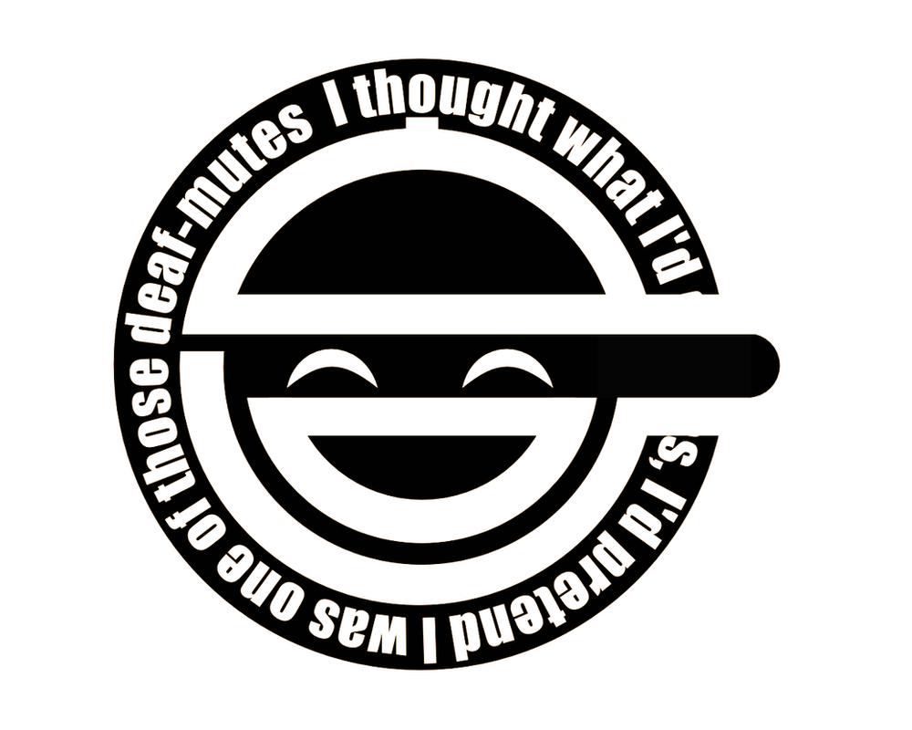 Laughing Man Screensaver By TryAgainBeats