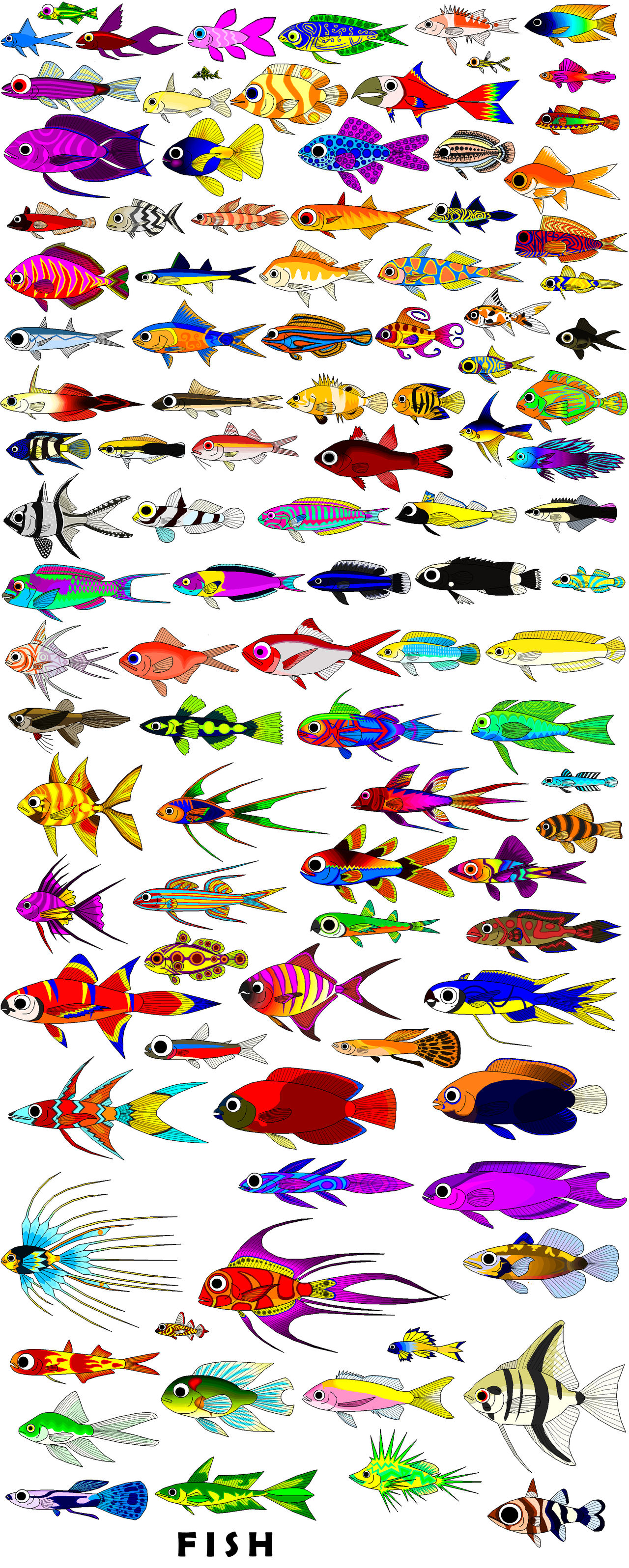 all the fish