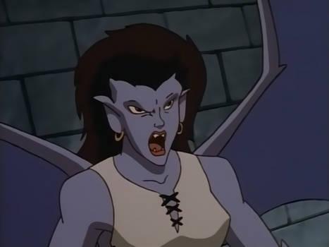 Gargoyles Angela Angry
