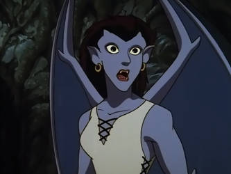 Gargoyles Angela Surprised by btsvflo89