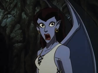 Gargoyles Angela Scared by btsvflo89