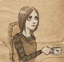 teatime by ladypumpkinseed
