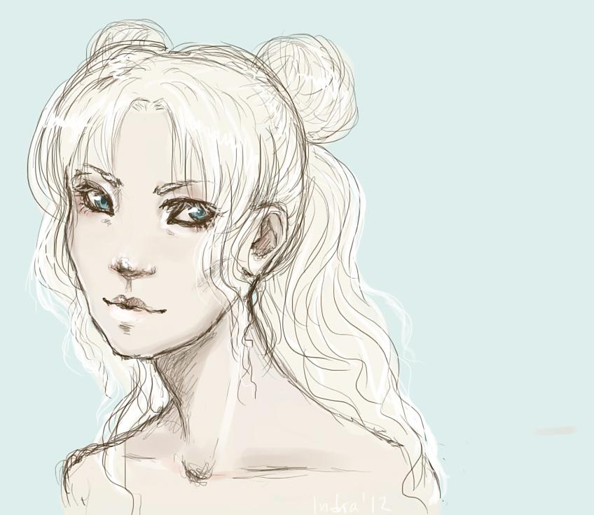 Sailor Moon by ladypumpkinseed