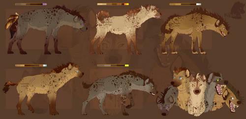 Kijabi Hyena Adopts! - Close