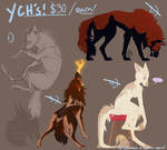Wolf YCHs, Closed!