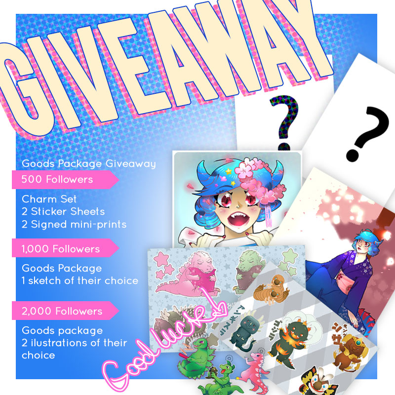 Giveaway by kaiju-hime