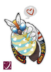 10-21-18 Mothra by kaiju-hime