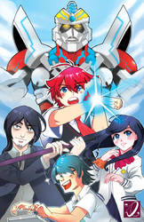 The Gridman Alliance by kaiju-hime