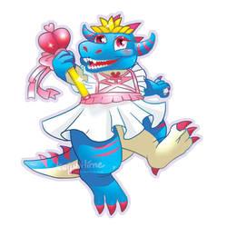 [Pretty Pretty Princess Kaiju Hime] by kaiju-hime