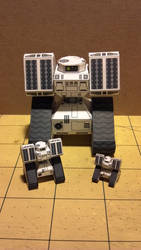 Stalwart Robotic Missile Tank in 3 scales by Dented-Rick